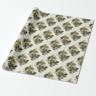 Carolina Parrot - John James Audubon (1827-1838) Wrapping Paper