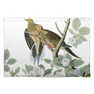 Carolina Pigeon John James Audubon Birds Placemat