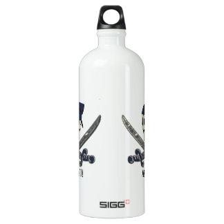 Carolina Pirate Aluminum SIGG Traveller 1.0L Water Bottle