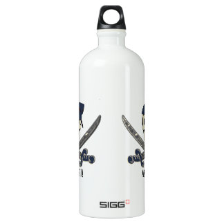 Carolina Pirate Aluminum Water Bottle