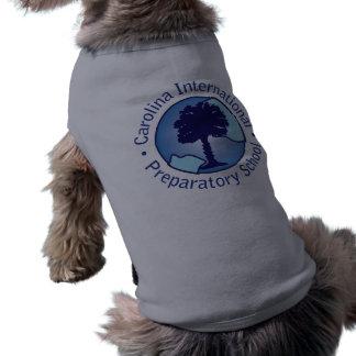 Carolina Prep Pet Attire Sleeveless Dog Shirt