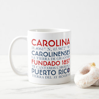 Carolina, Puerto Rico Coffee Mug