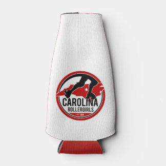 Carolina Rollergirls bottle koozie