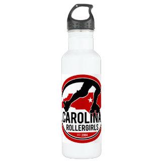 Carolina Rollergirls water bottle