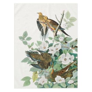 Carolina Turtle Dove, Birds of America by John Jam Tablecloth