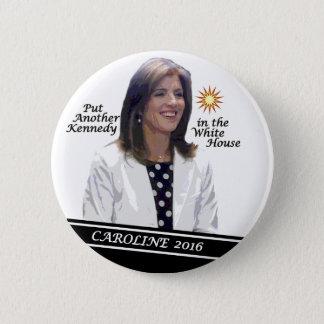 Caroline Kennedy Schlossberg for President 2016 6 Cm Round Badge