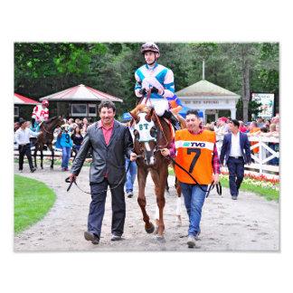 Caroline Thomas - Stakes Winning Filly Art Photo