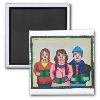 Caroling Trio Magnet