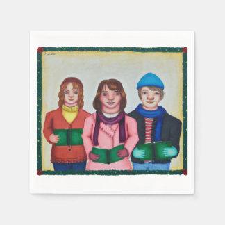 Caroller Trio Paper Napkins