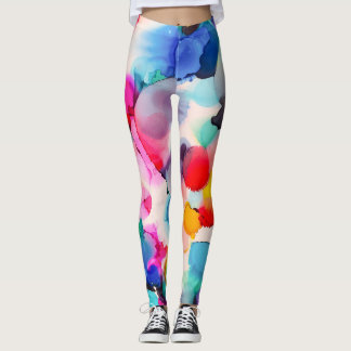 Carolyn Joe Art Athleisure Leggings