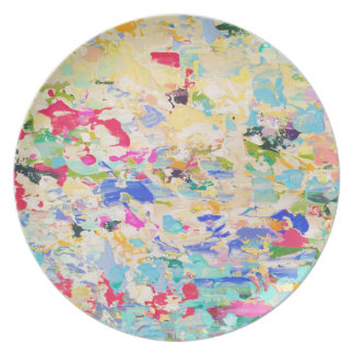 Carolyn Joe Art Melamine Plates