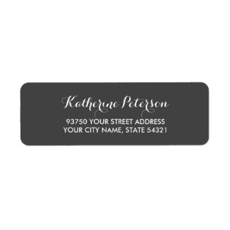 Carolyna Return Address Label