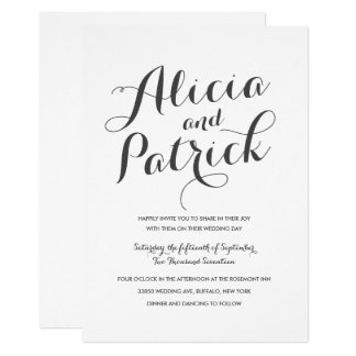 Carolyna Wedding Card