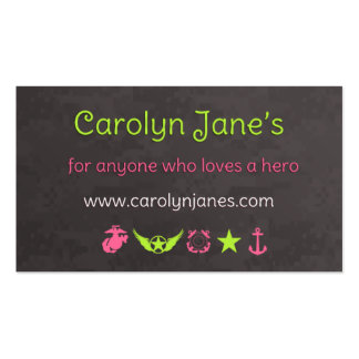 Carolyn's New Business Cards