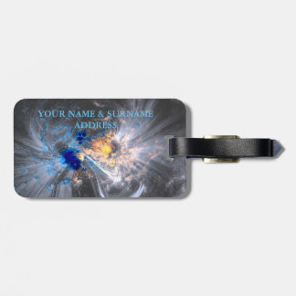 Caronal loops sun flares solar NASA Luggage Tag