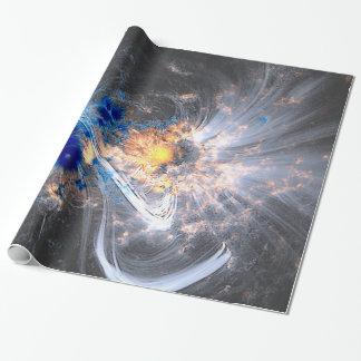 Caronal loops sun flares solar NASA Wrapping Paper