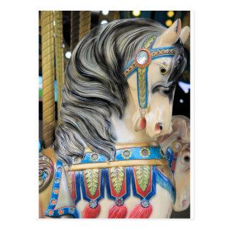 Carousal Horse 1 Postcard