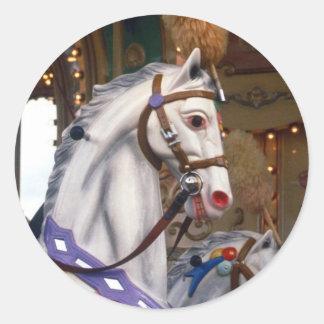 carousal pony sticker