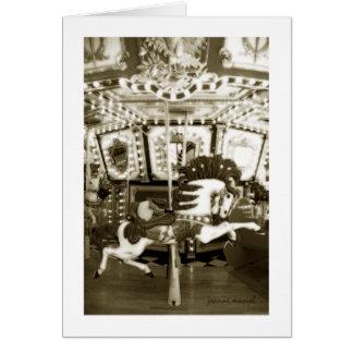 Carousel 19 Greeting Card