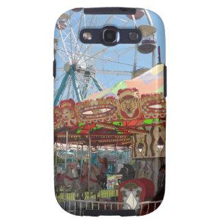 Carousel and Ferris Wheel at the Fair Samsung Galaxy SIII Case