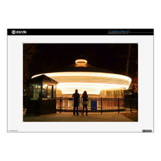 Carousel at Night Custom Skin Laptop Decals