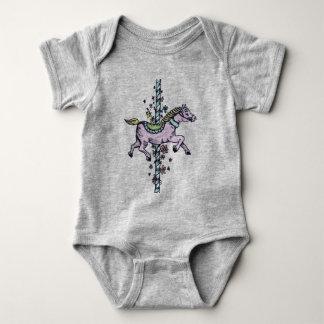 Carousel Baby Vest Baby Bodysuit