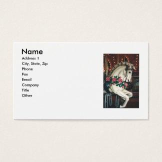Carousel Business Card... Business Card