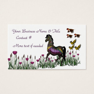 Carousel Business Cards