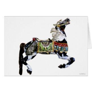 Carousel Hobby Horse Card