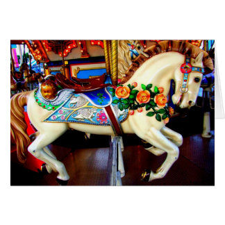 Carousel Horse - 1 Card