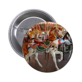 Carousel Horse,2 6 Cm Round Badge