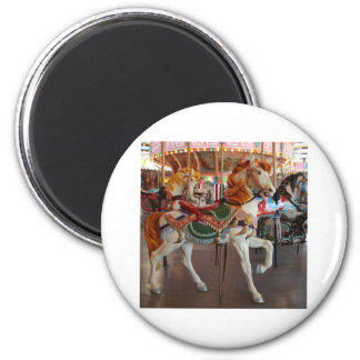 Carousel Horse,2 Fridge Magnets