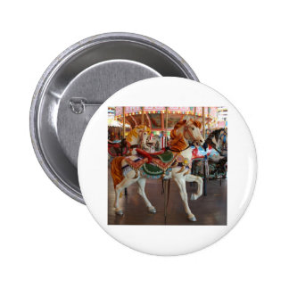 Carousel Horse 2 Pinback Buttons