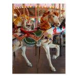 Carousel Horse,2 Post Card