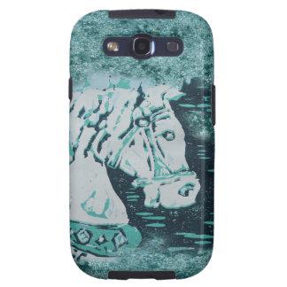 Carousel Horse Aquamarine Samsung Galaxy SIII Case