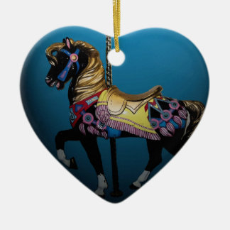 Carousel Horse Christmas Ornament