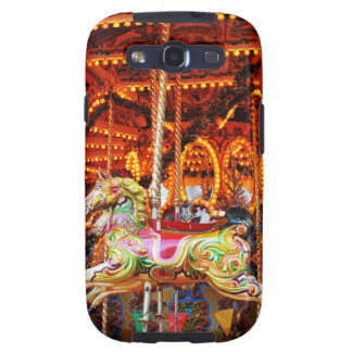 Carousel horse design galaxy s3 covers