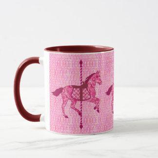 Carousel Horse - Fuchsia Pink Mug