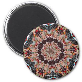 Carousel Horse Kaleidoscope Photo Magnet