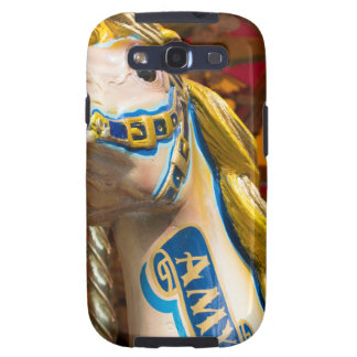 Carousel horse on merry goround samsung galaxy s3 cover