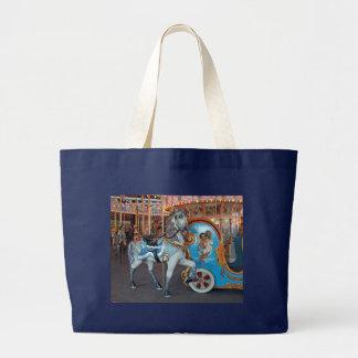 Carousel Horse with Cherub! Tote Bag