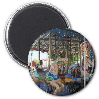 Carousel Fridge Magnets