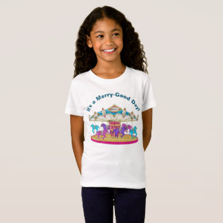 Carousel (Merry-Good-Day) Child's T-Shirt
