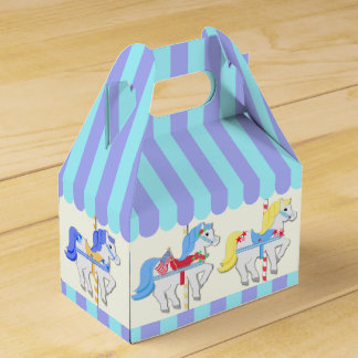 Carousel Ponies Favour Box