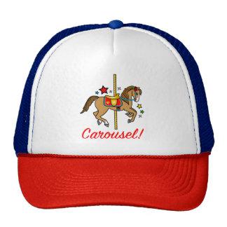 Carousel Pony with Stars Cap
