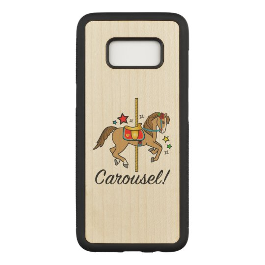 Carousel Pony with Stars Carved Samsung Galaxy S8 Case