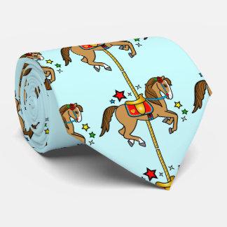 Carousel Pony with Stars Tie