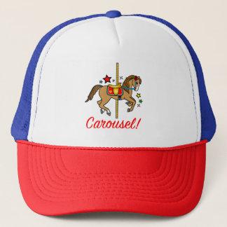 Carousel Pony with Stars Trucker Hat