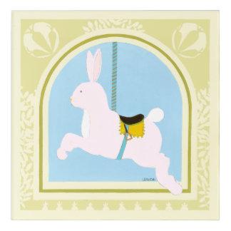 Carousel Rabbit by June Erica Vess Acrylic Print