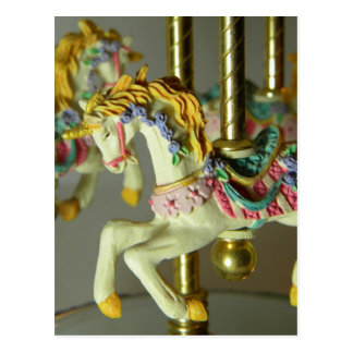 Carousel Ride Postcard